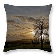 As Clouds Pass By Throw Pillow