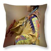 Pow Wow As In A Dream 2 Throw Pillow