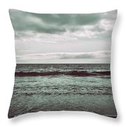 As My Heart Is Being Crushed Throw Pillow