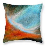 As She Flys Throw Pillow