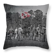 As The Flag Waves Throw Pillow