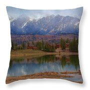 As The Fog Lifts Throw Pillow