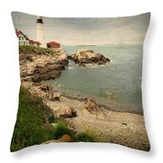 As The House Looks Over Throw Pillow