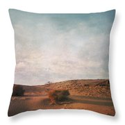 As The Sand Shifts So Do I Throw Pillow by Laurie Search