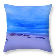 As The Storm Approaches Throw Pillow
