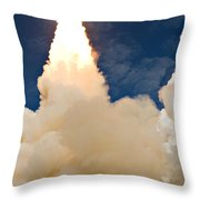 Ascending Atlantis Throw Pillow