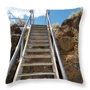 Ascending Throw Pillow