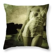 Ascending From The Sea Throw Pillow