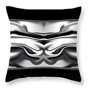 Ascension Angel Abstract Throw Pillow