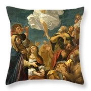 Ascension Of Christ Throw Pillow