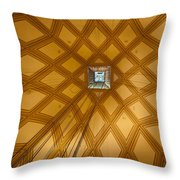 Ascent Into The Mole Throw Pillow