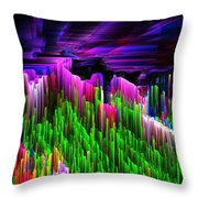 Asgard Roof Of The World Throw Pillow
