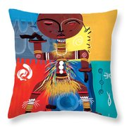 Ashanti Throw Pillow