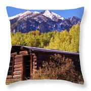 Ashcroft In Late September Throw Pillow