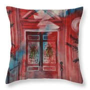 Ashfield Library Throw Pillow