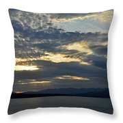 Ashokan Reservoir 12 Throw Pillow