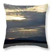 Ashokan Reservoir 13 Throw Pillow
