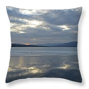Ashokan Reservoir 16 Throw Pillow