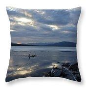 Ashokan Reservoir 17 Throw Pillow