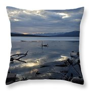Ashokan Reservoir 19 Throw Pillow