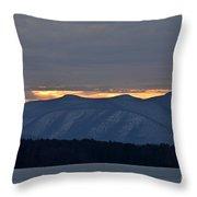Ashokan Reservoir 21 Throw Pillow