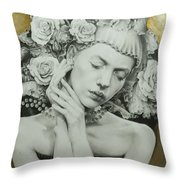Asia Throw Pillow