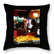 Asian Pears - Chinatown New York  Throw Pillow
