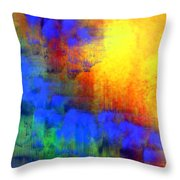 Asian Sunset Throw Pillow