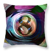 Ask Again Later Throw Pillow