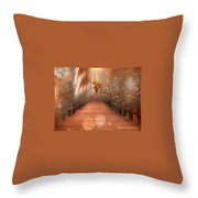 Ask And It Shall Be Given Throw Pillow