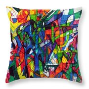 Asking Another To Understand 2 Throw Pillow