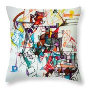 Asking For A Widening Of Thought 2 Throw Pillow