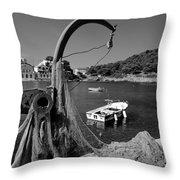Asos Village Throw Pillow