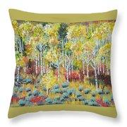 Aspen And Sage  Throw Pillow