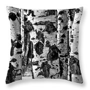 Aspen Art Throw Pillow