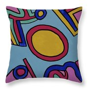 Aspen Carnival Throw Pillow