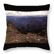 Aspen Highlands Throw Pillow