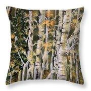 Aspen Hollow Throw Pillow