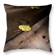 Aspen Leaf Throw Pillow