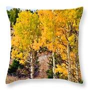 Aspen Meadows II Throw Pillow