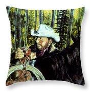 Aspen Morning Throw Pillow