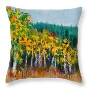 Lothlorien Throw Pillow