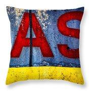 ASS Throw Pillow