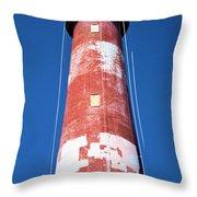 Assateague Lighthouse 2 Throw Pillow