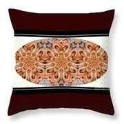 Assiette De Crevettes Throw Pillow