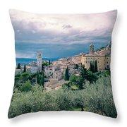 Assisi  Throw Pillow