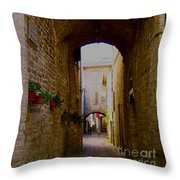 Assisi Walkway Throw Pillow
