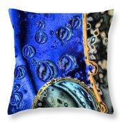 Asteroid Belt Throw Pillow