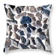 Asteroids Throw Pillow
