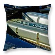 Aston Martin Db7 Engine Throw Pillow